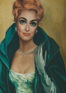 A literal portrait of Joan Crawford